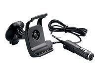 Garmin Automotive Suction Cup Mount with Speaker - Sugekopsmontering for navi...