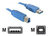 DeLOCK - USB-kabel - USB (han) til USB Type B (han) - USB 3.0 - 1.8 m - for D...