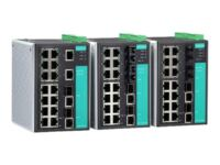 Moxa EtherDevice Switch EDS-518A-T - switch - 18 porte - Administreret
