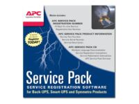 APC Extended Warranty (Renewal or High Volume) - Support opgradering - 1 år -...