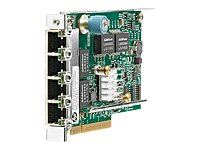 HPE 331FLR - Netværksadapter - PCIe 2.0 x4 - Gigabit Ethernet x 4 - for ProLi...