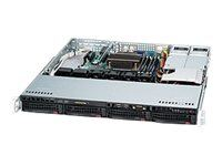 Supermicro SC813M TQ-R400CB - Rackversion - 1U - ATX - SATA/SAS - hot-swap 40...