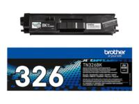 Brother TN326BK - Sort - original - tonerpatron - for Brother DCP-L8400, DCP-L8450, HL-L8250, HL-L8350, MFC-L8650, MFC-L8850