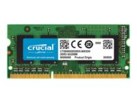 Crucial - DDR3 - 4 GB - SO DIMM 204-PIN - 1866 MHz / PC3-14900 - CL13 - 1.35 ...