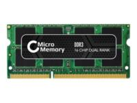 MicroMemory - DDR3 - 4 GB - SO DIMM 204-PIN - 1333 MHz / PC3-10600 - CL9 - 1....