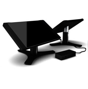 "BOX IT 12"" to 12.3"" MS Surface Pro Desk Stand (Anodized Black)"