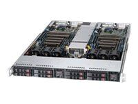 Supermicro SuperServer 1027TR-TF - rack-monterbar - uden CPU - 0 MB