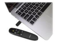 StarTech.com Wireless Presentation Remote with Green Laser Pointer - 90 ft. (...