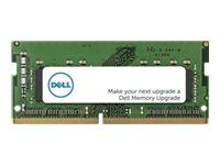 Dell - DDR4 - modul - 16 GB - SO DIMM 260-PIN - 3200 MHz / PC4-25600 - ikke b...