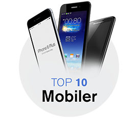 top 10 mobil smartphone erhverv