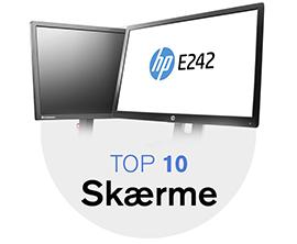 top 10 skærme erhverv